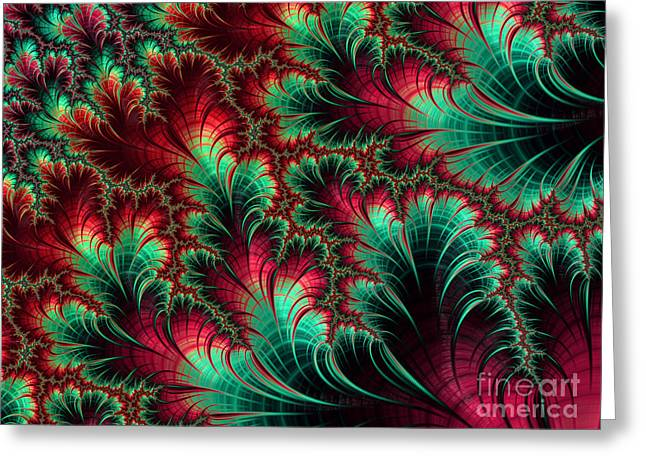 Abstract Digital Greeting Cards - Digi-04 Greeting Card by Sean Brasuell