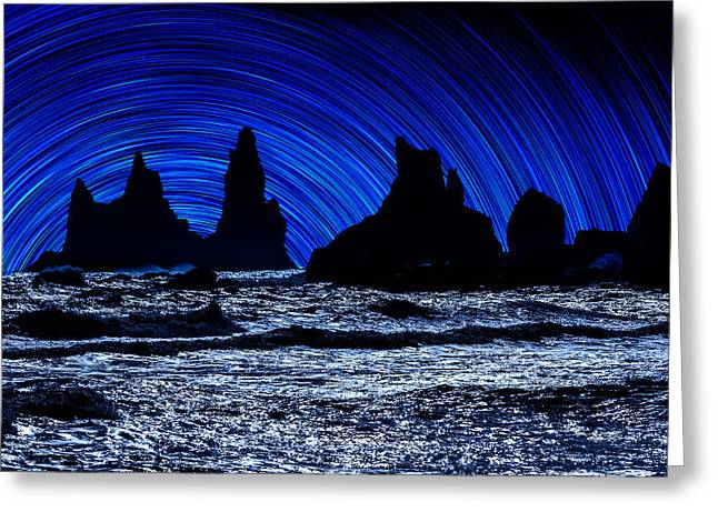 Troll Greeting Cards - Digial Composite Of Large Rocks Greeting Card by Panoramic Images