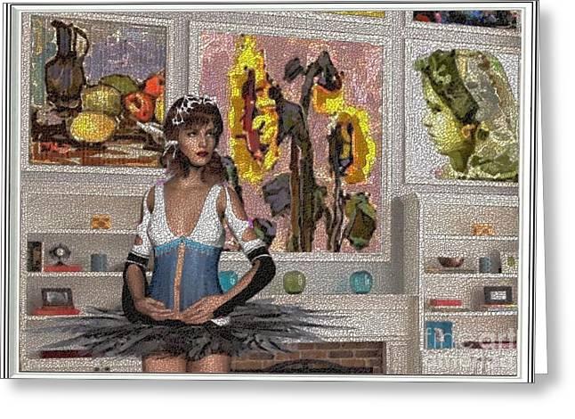 Pemaro Greeting Cards - digital exhibition 26DE1 Greeting Card by Pemaro