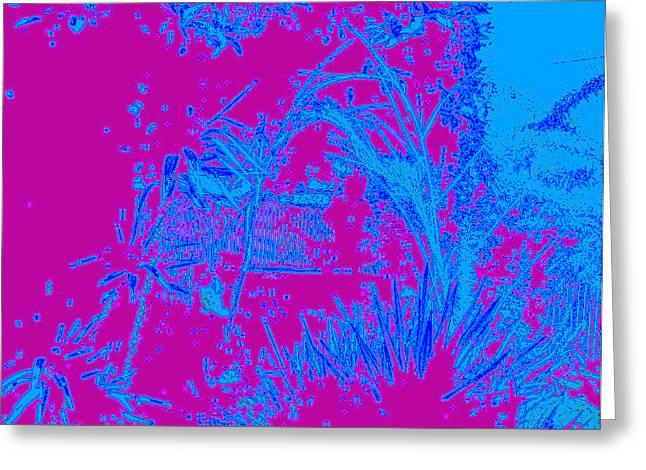 Etc. Mixed Media Greeting Cards - Digital Visual Greeting Card by HollyWood Creation By linda zanini