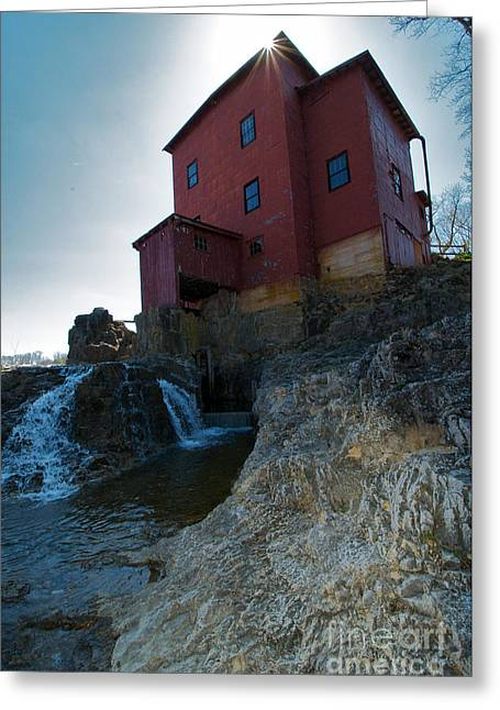 Grist Mill Greeting Cards - Dillard Mill Greeting Card by Chris  Brewington Photography LLC