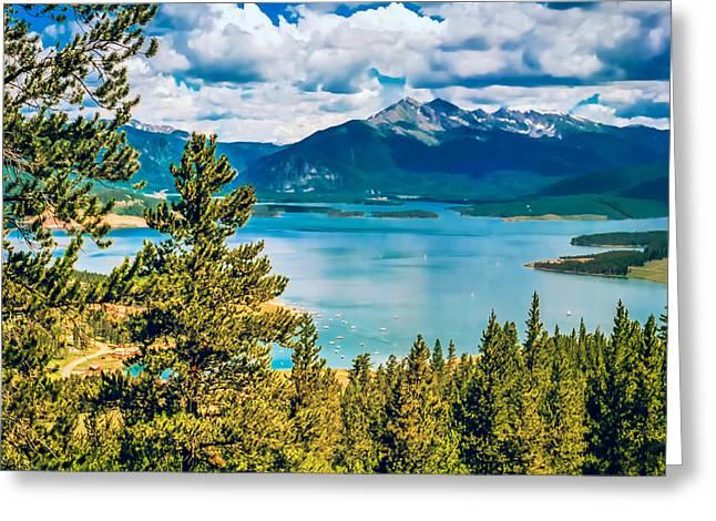Jon Burch Photography Greeting Cards - Dillon Lake Greeting Card by Jon Burch Photography