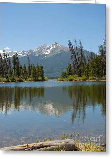 Compositions Photographs Greeting Cards - Dillon Lake Greeting Card by Juli Scalzi