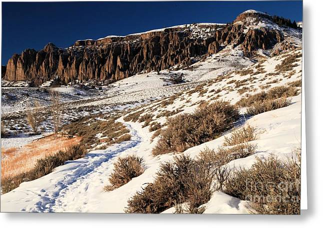 Dillon Greeting Cards - Dillon Pinnacles Trail Greeting Card by Adam Jewell