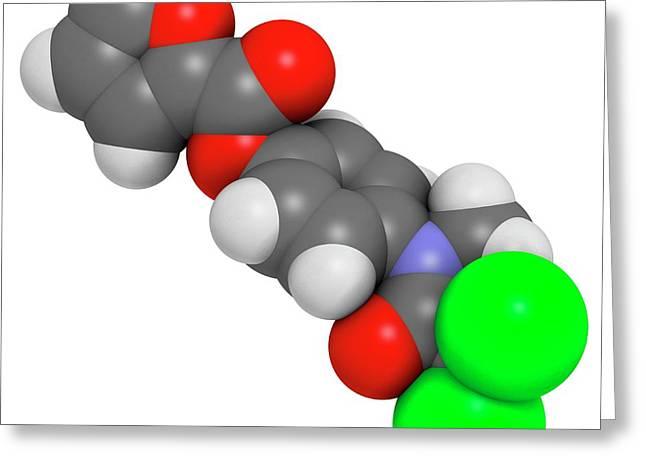 Diloxanide Furoate Amoebiasis Drug Greeting Card by Molekuul