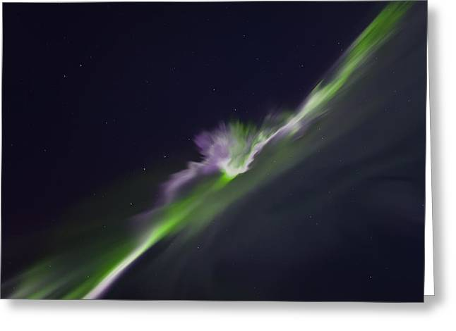 Aurora Greeting Cards - Dimension Greeting Card by Ed Boudreau
