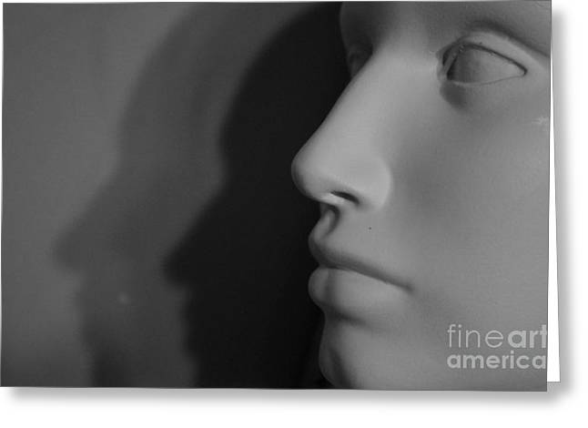 Cause And Effect Photographs Greeting Cards - Dimension of Self Greeting Card by Angelo DeVal