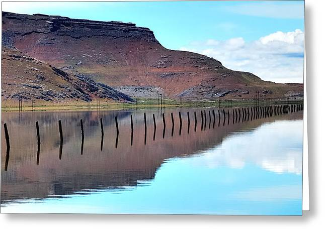 Creativity Desert Greeting Cards - Dimensional Reflections  Greeting Card by Steven Milner