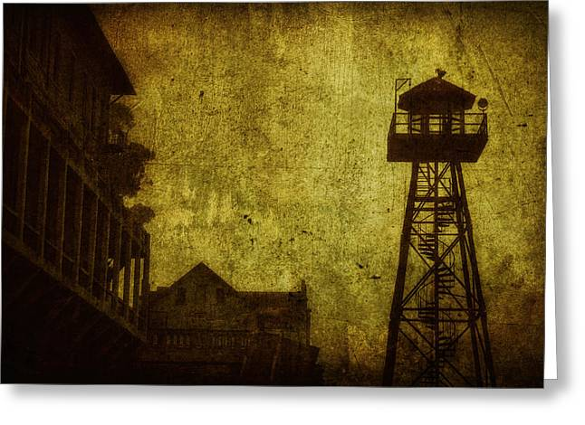 Alcatraz Greeting Cards - Diminished Dawn Greeting Card by Andrew Paranavitana