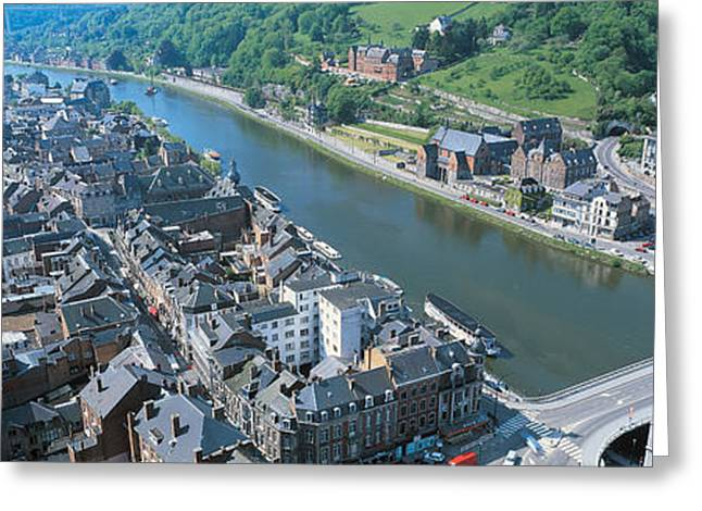 Connector Greeting Cards - Dinant Ardennes Belgium Greeting Card by Panoramic Images