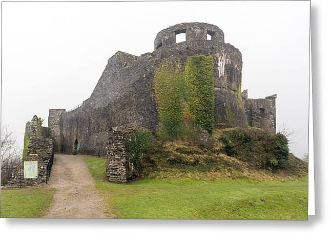 Dinefwr Castle In Wales Greeting Card by Paul Cowan