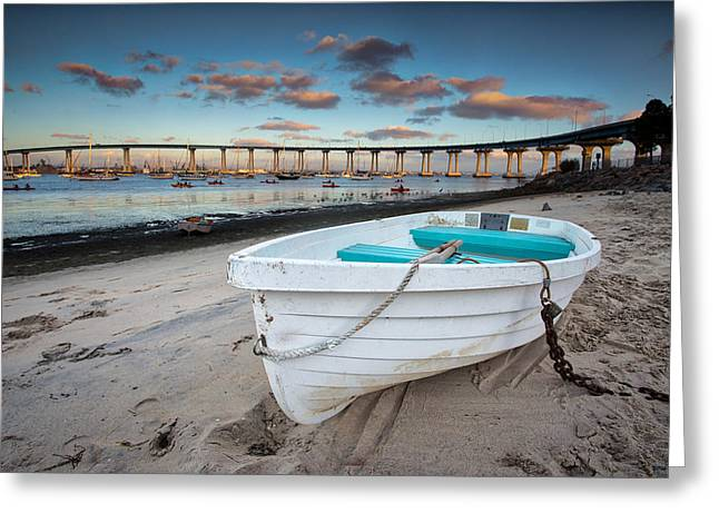 Dinghy Greeting Cards - Dinghy II Greeting Card by Peter Tellone