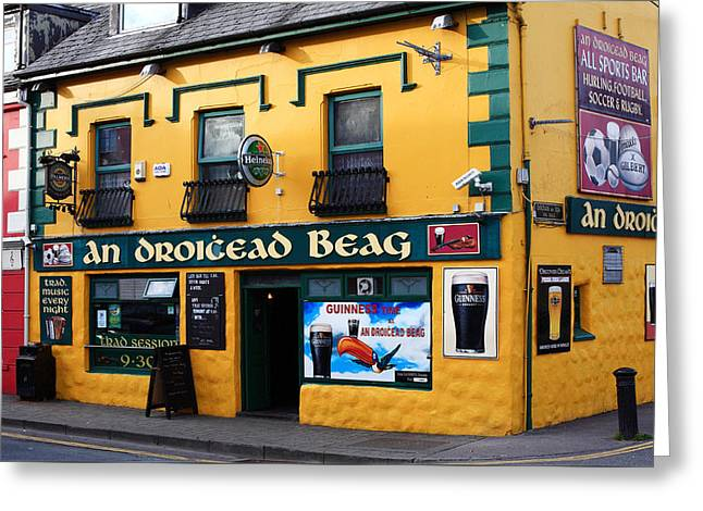 Public House Greeting Cards - Dingle County Kerry Ireland Greeting Card by Aidan Moran