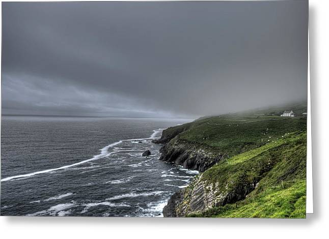 Caost Greeting Cards - Dingle Peninsula Greeting Card by Shawn Kassner