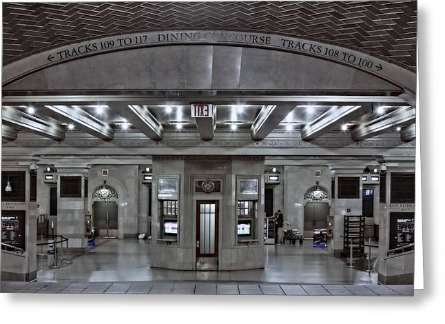 Architecture Greeting Cards - Dining Concourse GCT Greeting Card by Susan Candelario