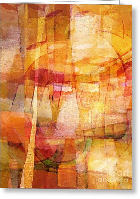 Melon Paintings Greeting Cards - Dining Room Greeting Card by Lutz Baar