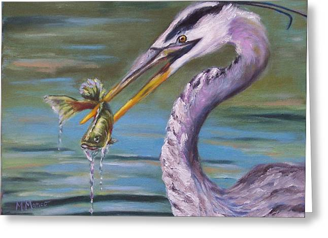 Lake Wylie Greeting Cards - Dinner at Eight Greeting Card by Martha Manco