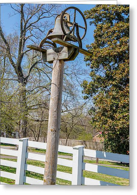 Home Of Andrew Jackson Greeting Cards - Dinner Bell Greeting Card by Robert Hebert