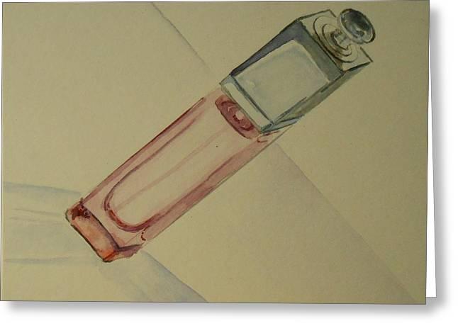 Dior Greeting Cards - Dior Addict - Still life Greeting Card by Geeta Biswas