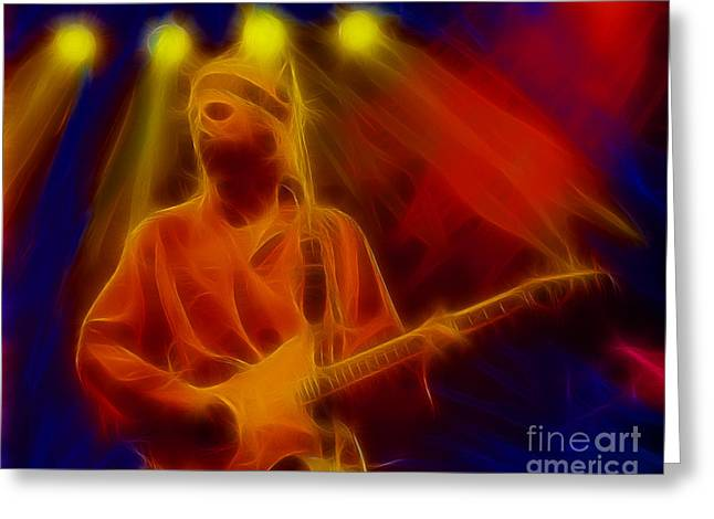 Dire Straits-4-fractal Greeting Card by Gary Gingrich Galleries