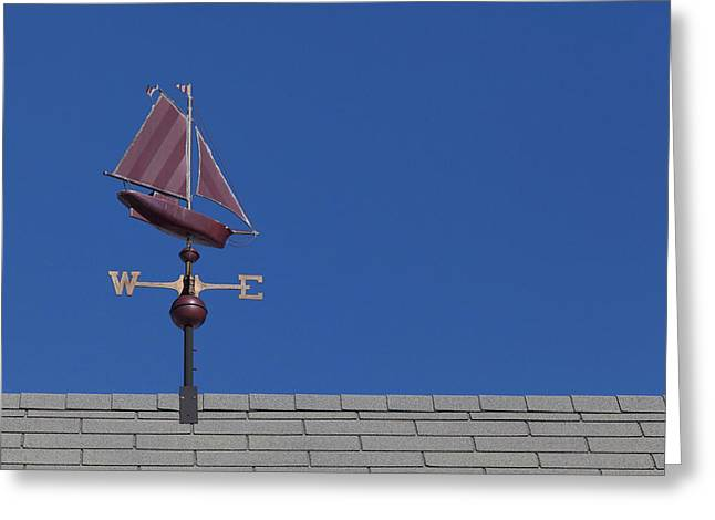 Weathervane Greeting Cards - Direction Greeting Card by Rafael Macias