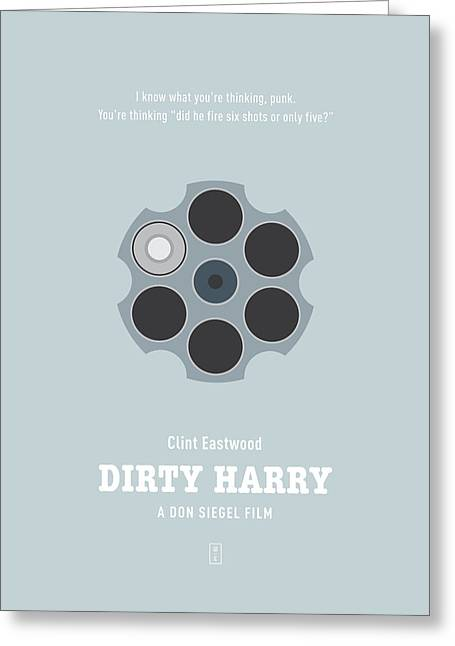 Dirty Digital Art Greeting Cards - Dirty Harry Greeting Card by Smile In The  Mind