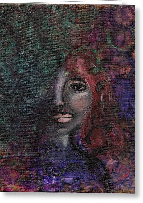 Disappearance Of Sophie Greeting Card by Donna Blackhall