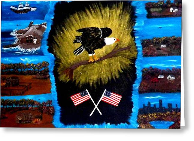 Pilgram Greeting Cards - Discover Greeting Card by Terry Meador