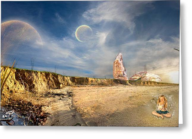 Fantasy World Greeting Cards - Discovery Greeting Card by Kim M Smith