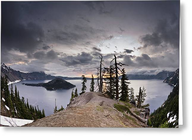Discovery Point At Dawn Greeting Card by Greg Nyquist