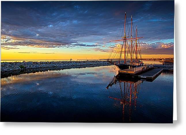 Geographic Greeting Cards - Discovery World Greeting Card by Phil Koch