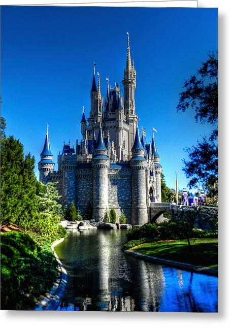 Amusements Greeting Cards - Disney HDR 002 Greeting Card by Lance Vaughn