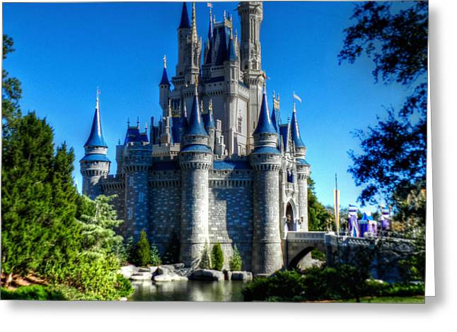 Disney HDR 002 Greeting Card by Lance Vaughn