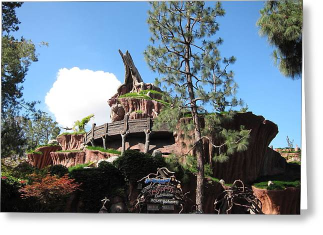 Pretty Photographs Greeting Cards - Disneyland Park Anaheim - 121219 Greeting Card by DC Photographer