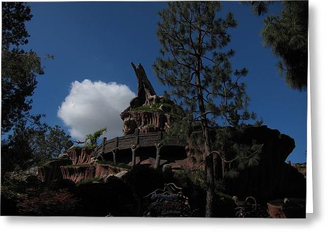 Anaheim Greeting Cards - Disneyland Park Anaheim - 121221 Greeting Card by DC Photographer