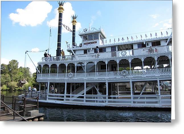 Disneyland Greeting Cards - Disneyland Park Anaheim - 121223 Greeting Card by DC Photographer