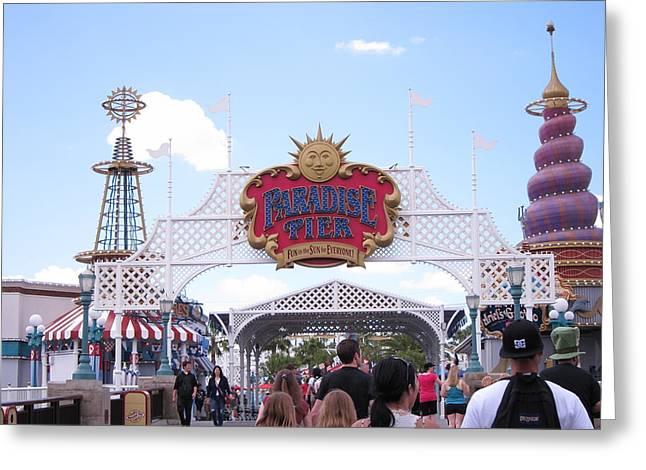 Disneyland Greeting Cards - Disneyland Park Anaheim - 121236 Greeting Card by DC Photographer