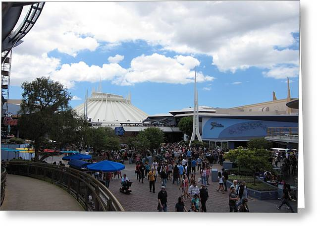 Disneyland Greeting Cards - Disneyland Park Anaheim - 121249 Greeting Card by DC Photographer