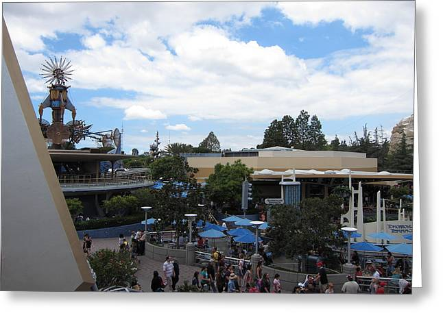 Disneyland Greeting Cards - Disneyland Park Anaheim - 121250 Greeting Card by DC Photographer