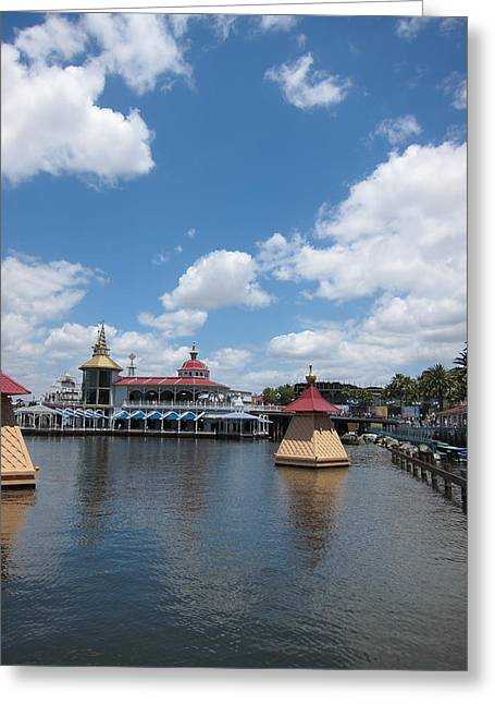 Disneyland Greeting Cards - Disneyland Park Anaheim - 121261 Greeting Card by DC Photographer