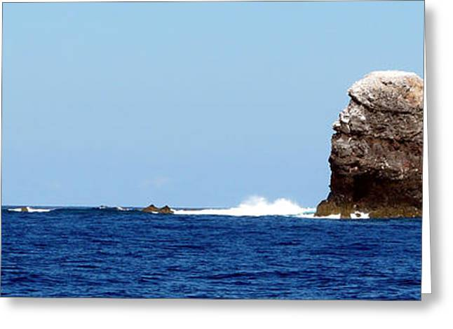 Wahoo Greeting Cards - Disolving Volcano - Alijos Rocks 6 Greeting Card by Alex Mobile