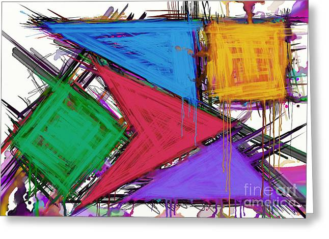 Loose Style Digital Greeting Cards - Disruptor Greeting Card by Keith Mills