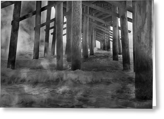 Haze Photographs Greeting Cards - Dissipation  Greeting Card by Betsy C  Knapp