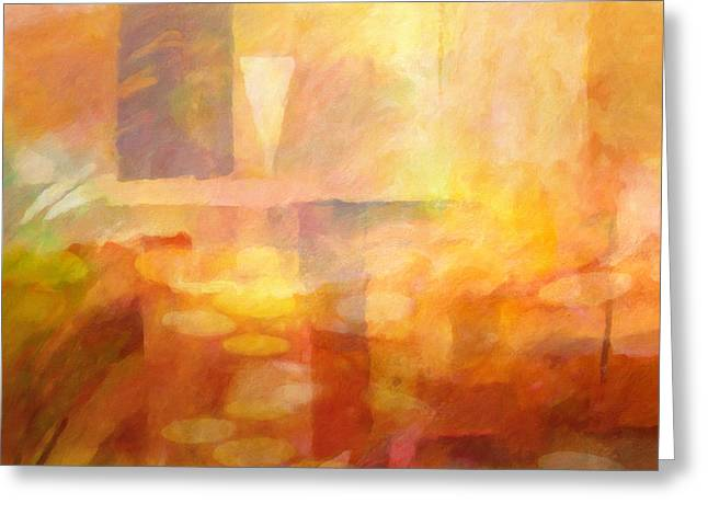 Featured Art Greeting Cards - Distant Impressions Greeting Card by Lutz Baar