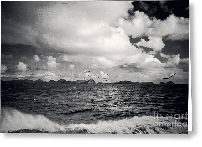 Inseln Greeting Cards - Distant Lands Greeting Card by Dirk Wuestenhagen