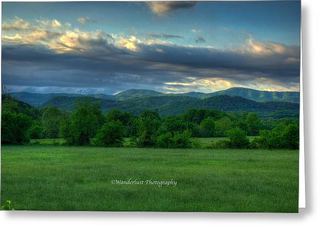 Distance Framed Prints Greeting Cards - Distant Range Greeting Card by Paul Herrmann