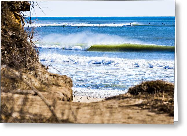 Best Sellers -  - Surfing Photos Greeting Cards - Ditch Plains Greeting Card by Ryan Moore
