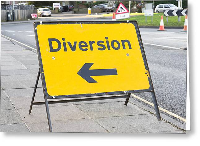 Diversion Greeting Cards - Diversion Greeting Card by Tom Gowanlock