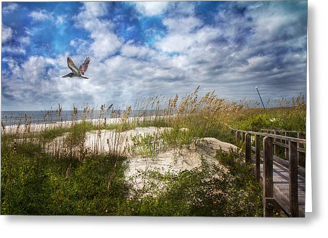 Divine Beach Day  Greeting Card by Betsy C Knapp