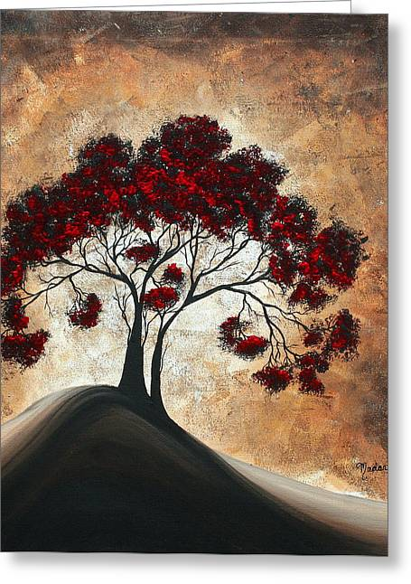 Wall Licensing Greeting Cards - Divine Intervention II by MADART Greeting Card by Megan Duncanson